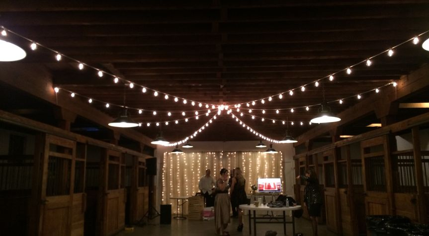 Our market lights at Crawford's Barn in Rancho Cordova, Ca.