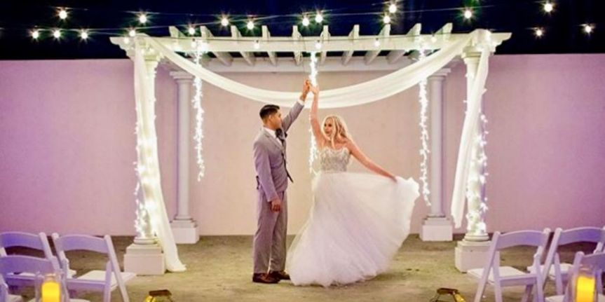 Our lighting can help you create a fairy tale wedding!