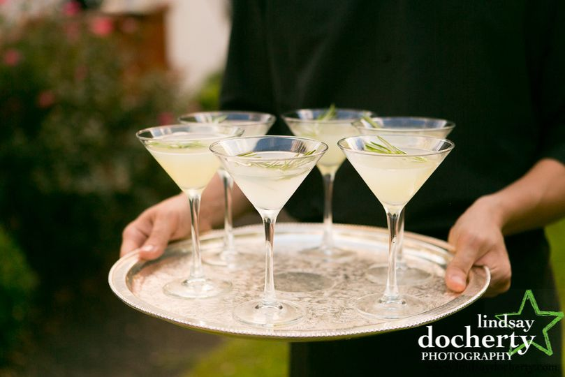 Drinks for the guests