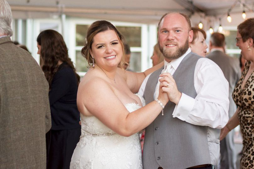 The First Dance!  Floral by Jen's Floral by Jen's Blossoms, Photo courtesy of Christelle Elbert...