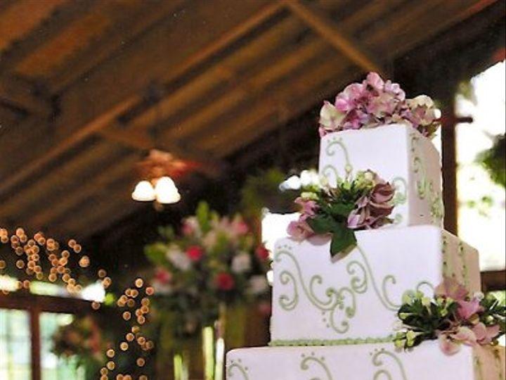 Tmx 1213654527199 Greenscroll Northridge wedding cake