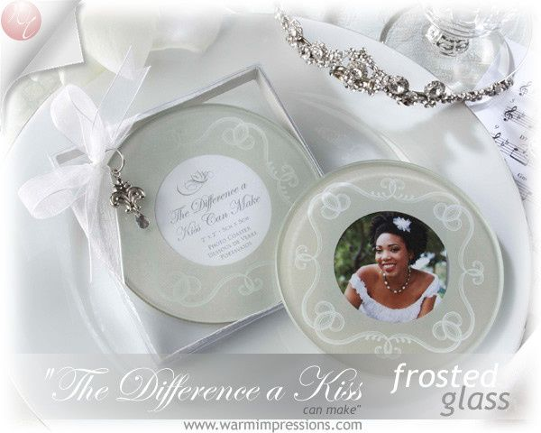 """http://www.warmimpressions.com Wedding Favors - Bridal Favors - """"The Difference a Kiss Can Make""""..."""