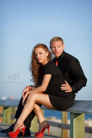 Engagement Photos in Jupiter by South Florida Wedding Photographer Jemma Coleman Photography --...