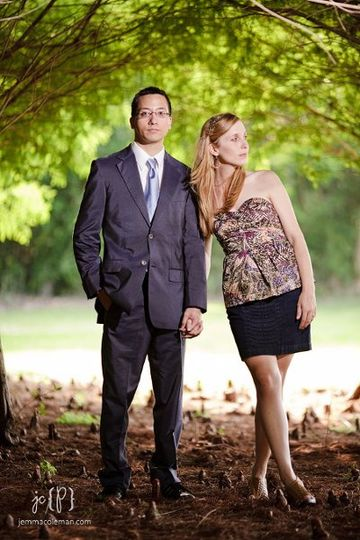 Engagement Photos in Sunrise, FL by South Florida Wedding Photographer Jemma Coleman Photography --...