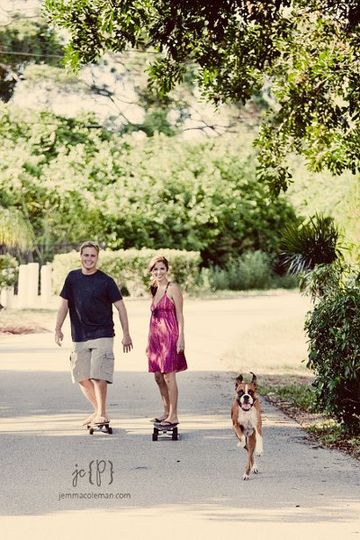 Engagement Photos in Jupiter, FL by Palm beach Wedding Photographer Jemma Coleman Photography --...