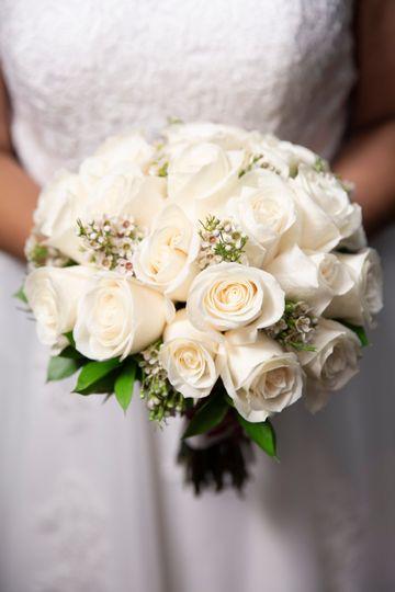 Standard wedding bouquet