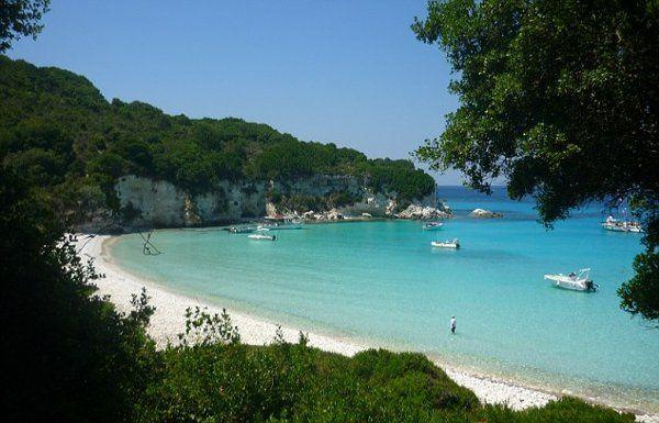 Voutoumi Beach Island of Paxos Greece