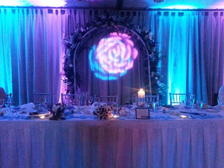 Uplighting is a great way to add class and elegance to your event