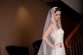 NATALLE silk wedding veils