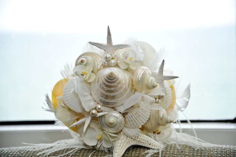 Hand made Shell bouquets