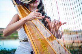 Wedding Harpist, Emily Montoya Barnes
