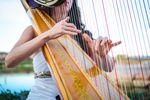 Wedding Harpist, Emily Montoya Barnes image