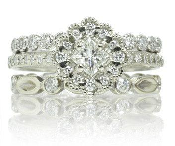 Tmx 1418063154258 Ringstack04 Austin wedding jewelry
