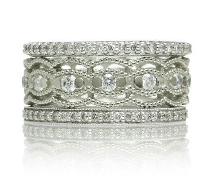 Tmx 1418063165520 Ringstack01 Austin wedding jewelry