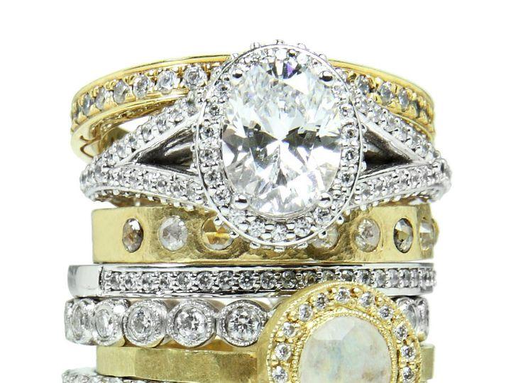 Tmx 1418063380988 Ringstacka Austin wedding jewelry