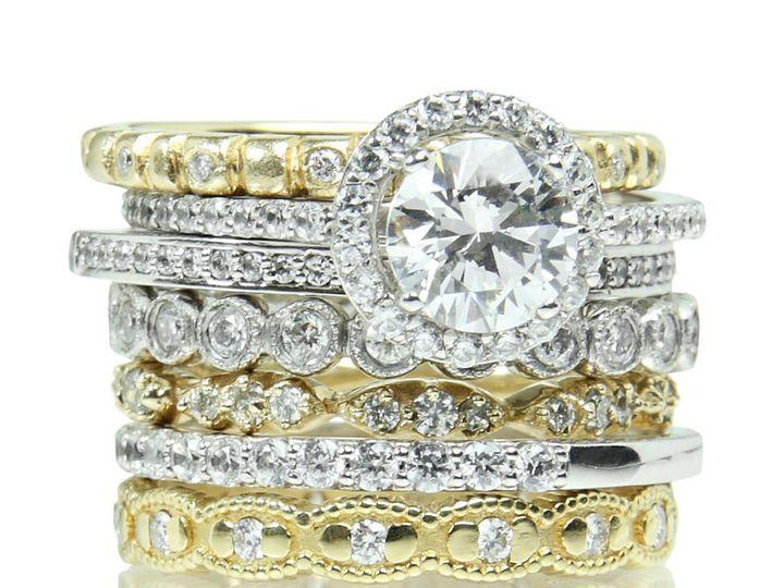 Tmx 1418063392299 Ringstackj Austin wedding jewelry
