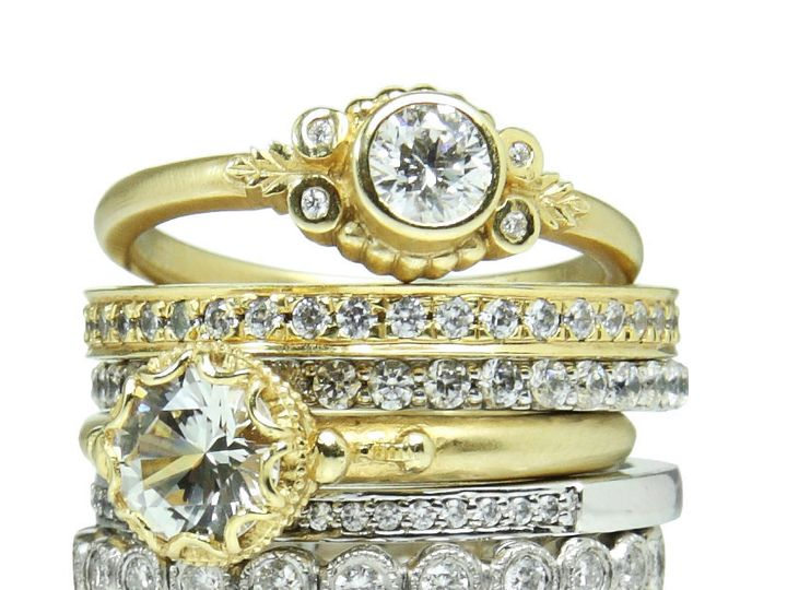 Tmx 1418063404230 Ringstackf Austin wedding jewelry