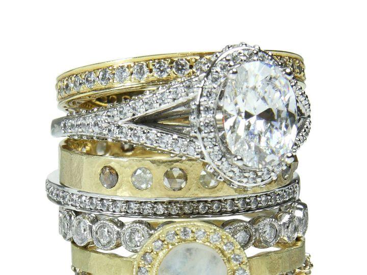 Tmx 1418063416114 Ringstackb Austin wedding jewelry