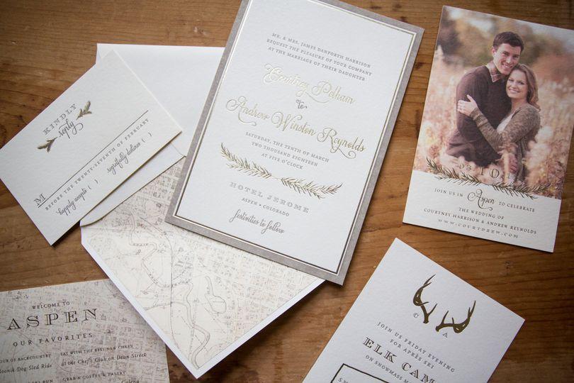 White paper and modern handwriting
