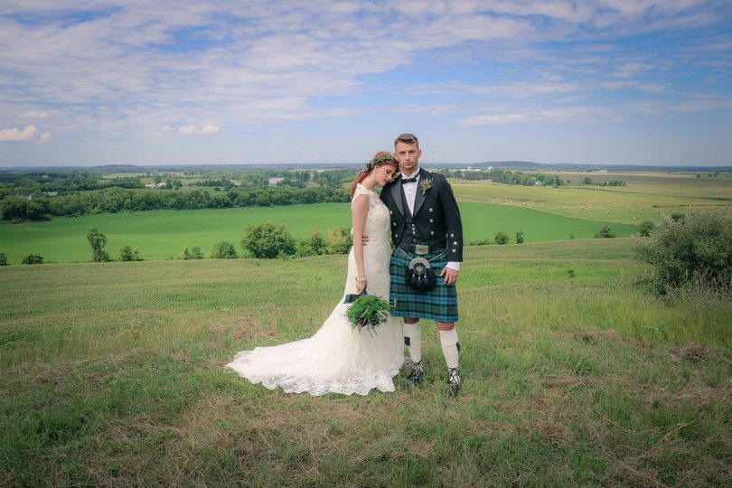 Modern Celtic Weddings. Hair and Makeup Artistry by WarPaint International Beauty Agency