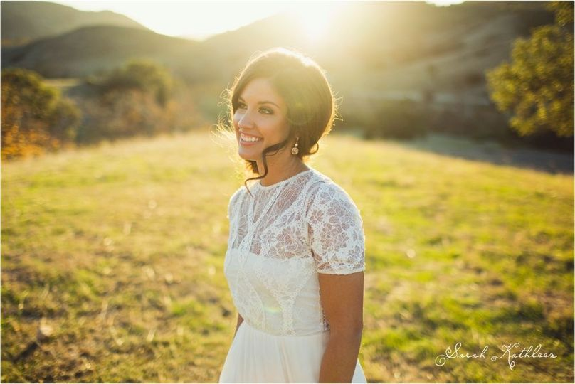 Higuera Ranch CA Bride Hair & Makeup: Rhonda Johnson