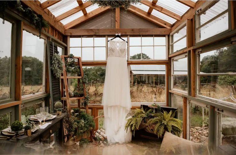 Picturesque greenhouse