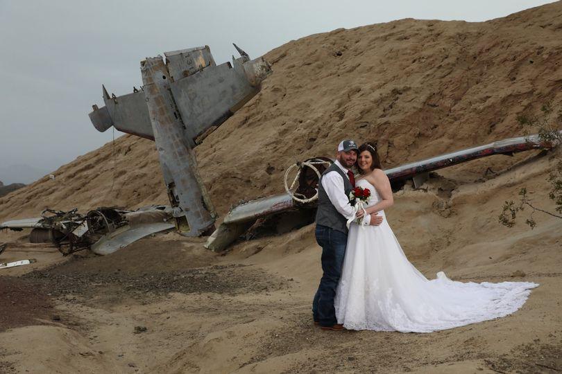 Eldorado canyon wedding