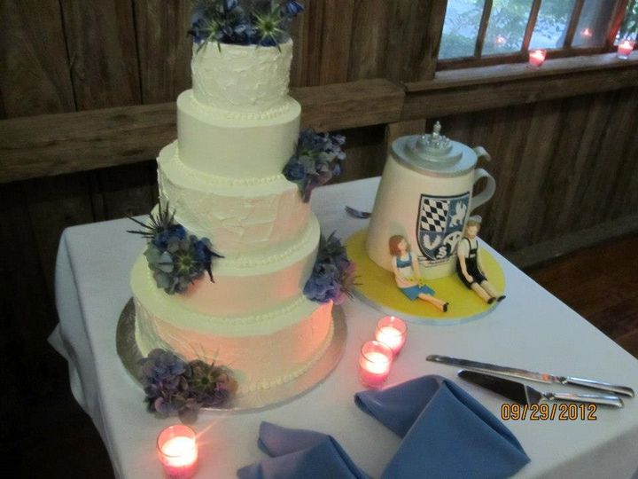 Tmx 1349106955200 14WeddingCake West Grove, Pennsylvania wedding planner