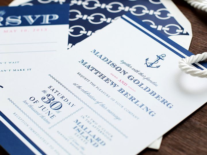 Tmx Nautical Rhode Island Wedding Invitation 51 405360 Pittstown, NJ wedding invitation