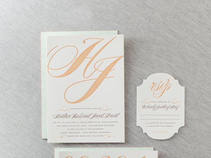 Tmx 1365562994076 Dp2calistoga04lrg La Jolla, CA wedding invitation