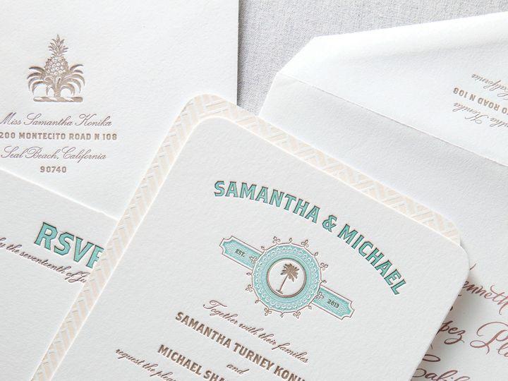 Tmx 1365563278803 Dp2pacificae La Jolla, CA wedding invitation