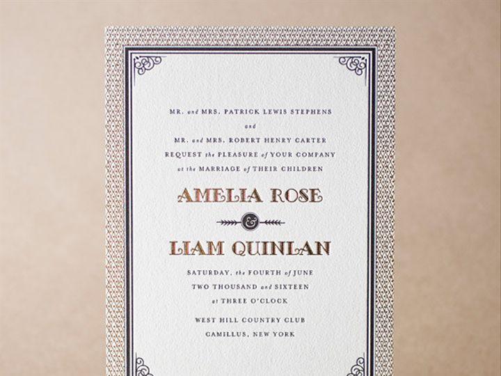 Tmx 1365563615592 Fitzgerald La Jolla, CA wedding invitation