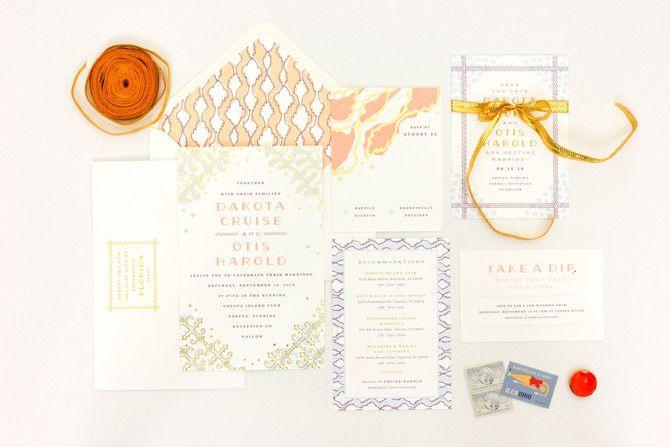 Tmx 1365563772485 Maemaedakota1 La Jolla, CA wedding invitation