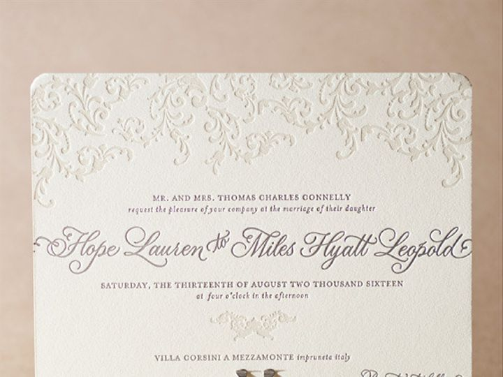 Tmx 1365563998945 Ravenna La Jolla, CA wedding invitation