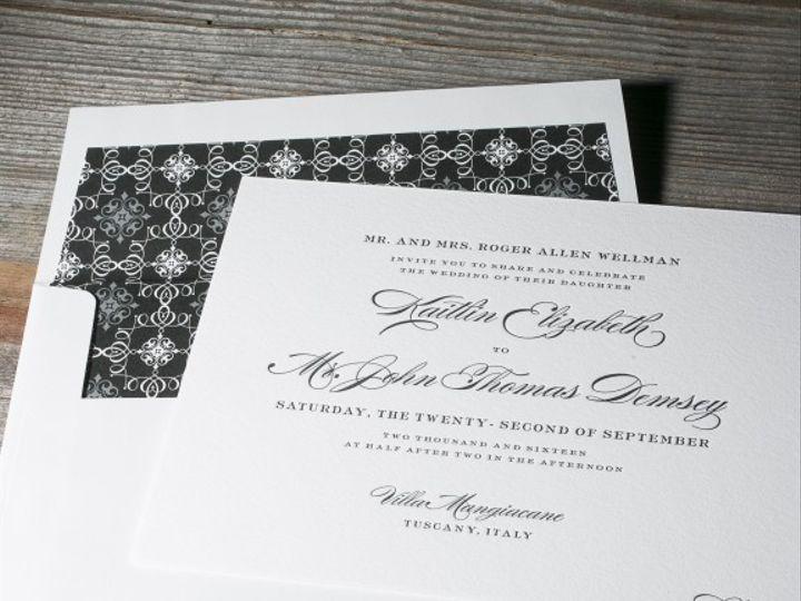 Tmx 1428638723038 Deveril 3 576x576 La Jolla, CA wedding invitation
