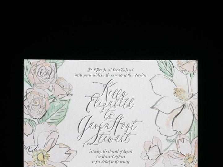 Tmx 1428638726166 English Garden 1 576x576 La Jolla, CA wedding invitation
