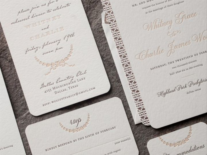 Tmx 1428638759312 Spence10 576x576 La Jolla, CA wedding invitation