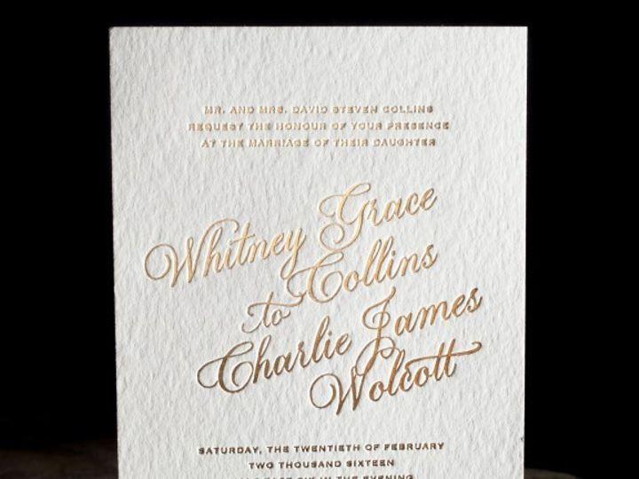 Tmx 1428638762239 Spence 2 01 576x576 La Jolla, CA wedding invitation