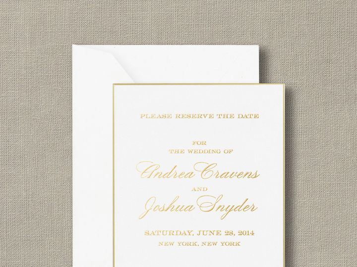 Tmx 1428638779764 Zoom V1 89 90882 La Jolla, CA wedding invitation