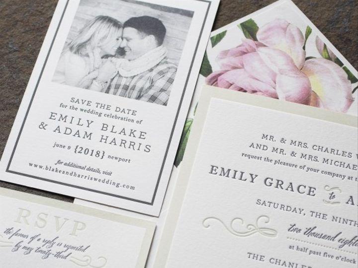 Tmx 1429382756266 Ashbourne 5 576x576 La Jolla, CA wedding invitation