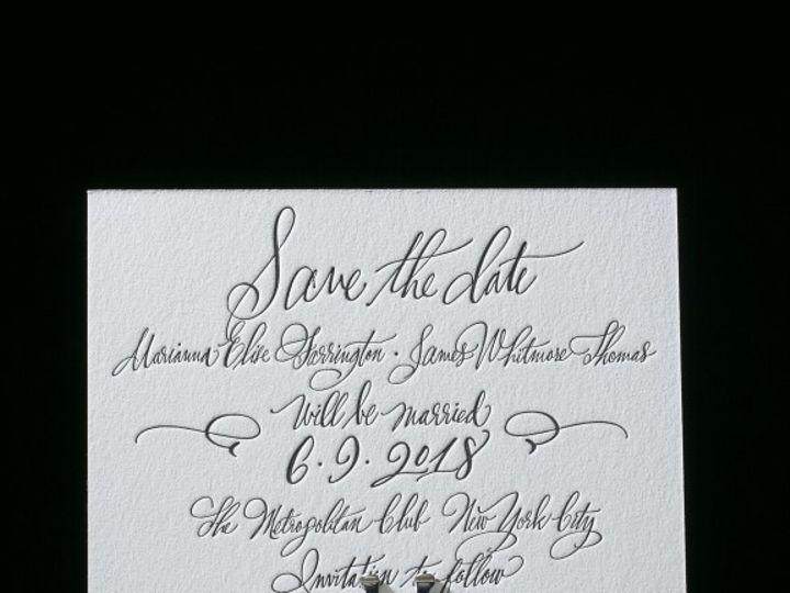 Tmx 1429382763193 Belperron Save The Date 576x576 La Jolla, CA wedding invitation
