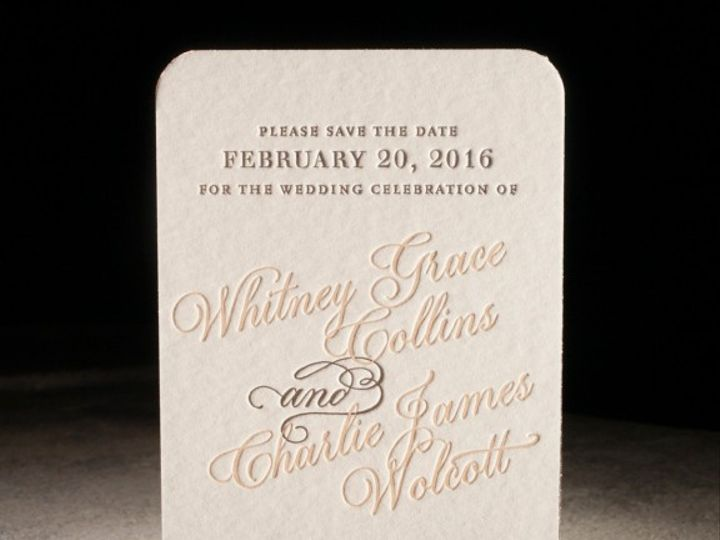 Tmx 1429382771335 Spence03 576x576 La Jolla, CA wedding invitation
