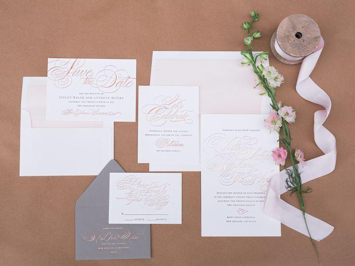 Tmx 1434568428951 Haute Papier Weddinginvitation La Jolla, CA wedding invitation