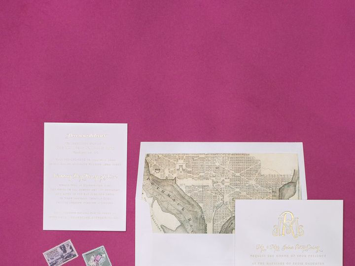Tmx 1434568450448 Haute Papier  Weddinginvitation La Jolla, CA wedding invitation