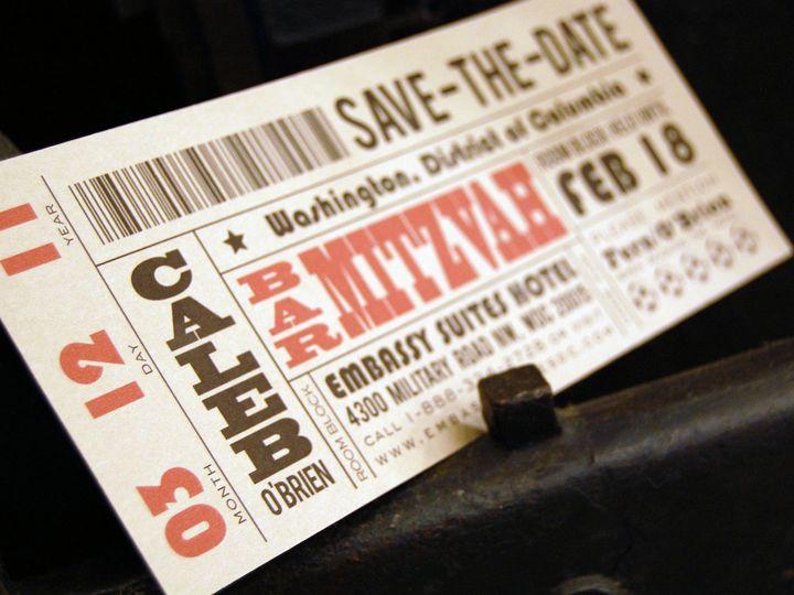 Tmx 1434568494407 Haute Papier1   Savethedate La Jolla, CA wedding invitation