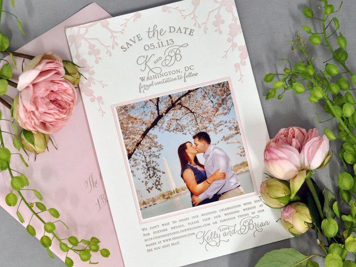 Tmx 1434568504897 Haute Papier   Savethedate La Jolla, CA wedding invitation