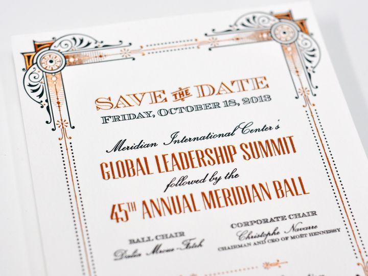 Tmx 1434568522189 Haute Papier   Savethedate La Jolla, CA wedding invitation