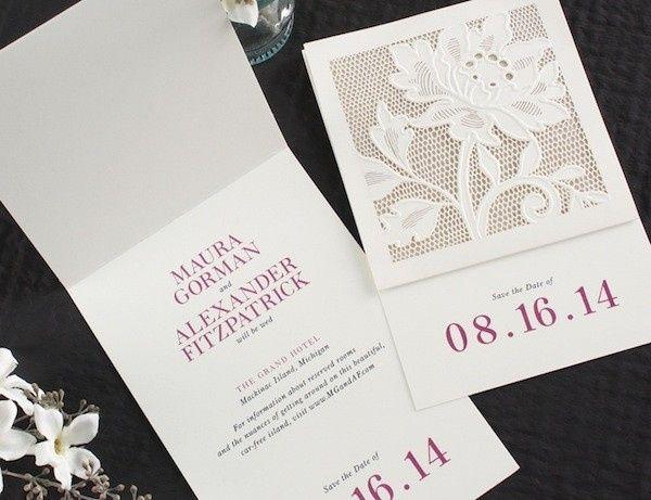 Tmx 1434582415623 Vera Wang1   Savethedate La Jolla, CA wedding invitation