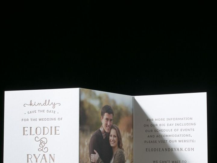 Tmx 1434583300066 Bellefigura   Savethedate La Jolla, CA wedding invitation