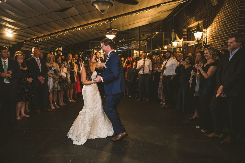 First Dance, Garden Room